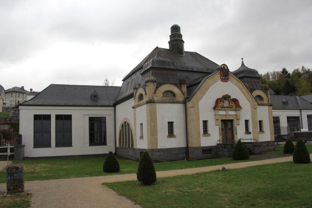 Brunnentempel Selterswassermuseum Niederselters